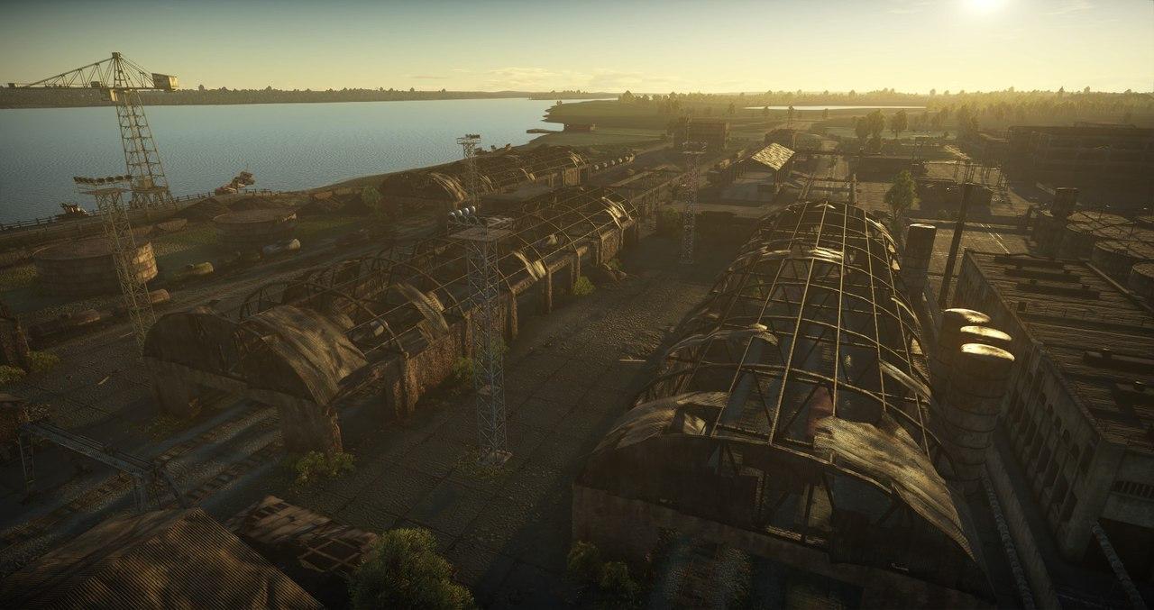 вар тандер карта заброшенный завод