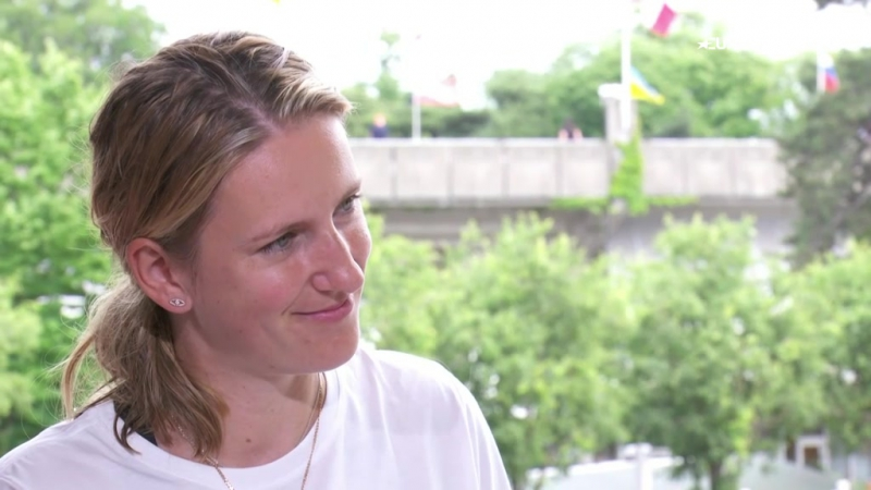 Victoria Azarenka Having a son is the best thing thats happened to me it gives me perspective - French Open - Video Eurosport