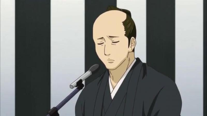 Момент из 30 серии аниме Гинтама 2 сезон / Gintama