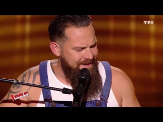 Will Barber -  Another Brick In the Wall  (Pink Floyd) _ The Voice France 2017