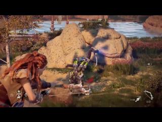 Зрелищные сражения в новом геймплейном видео Horizon: Zero Dawn Релиз состоится 1 марта