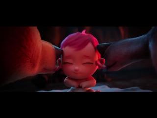 Влюбился ваще по уши (мультфильм Аисты 2016)