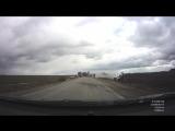 Первые минуты после ДТП 25.03.17 около д.Свиридовка, трасса Рязань-Ряжск