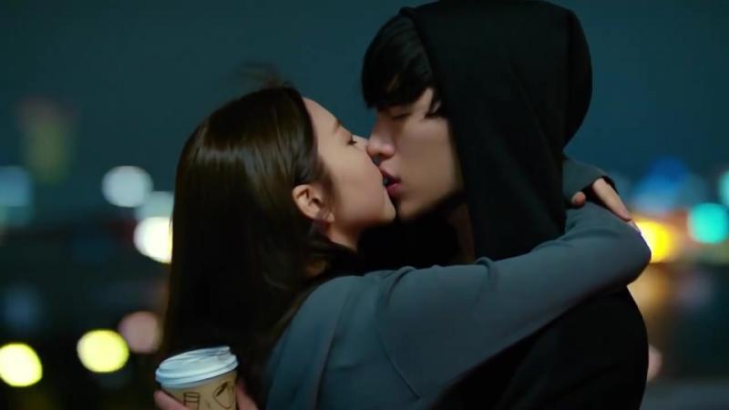 {안투라지_ Entourage} An So Hee x Seo Kang Joon_ French Kiss _ 서강준 ♥ 안소희 키스 (full cut) лелио