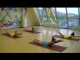 Отчетное занятие в Академии детского развития и танца в Купчино (демонстрация физических элементов, группа 6-8 лет, 31 мая 2017)