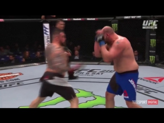 UFC Fight Night - 107  OMIELANCZUK vs JOHNSON обзор боя