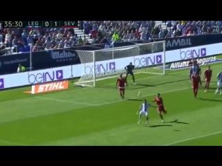 Леганес - Севилья 2-3. Обзор матча. .