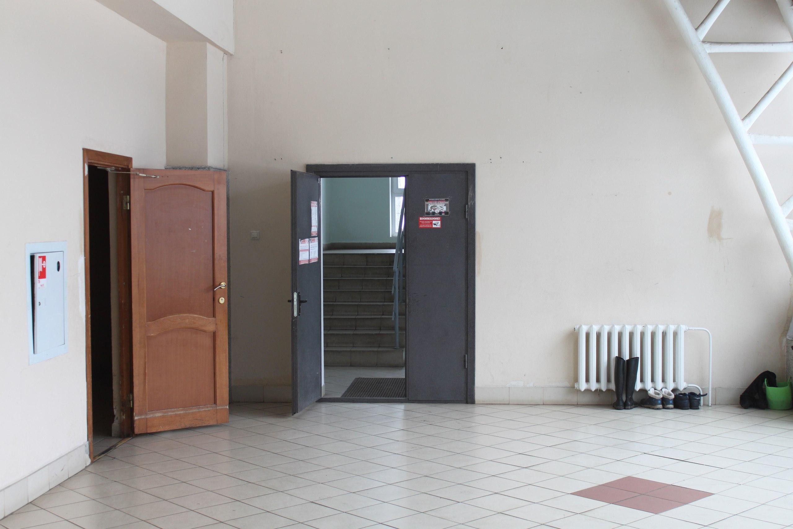 Вход на 1 этаже
