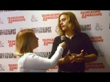 Dylan Sprouse Interview at Dungeons and Dragons Force Grey 2016