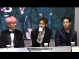 VK17.12.2016 MONSTA X press conference In Taipei The First Asia FanMeetingin @ Yes
