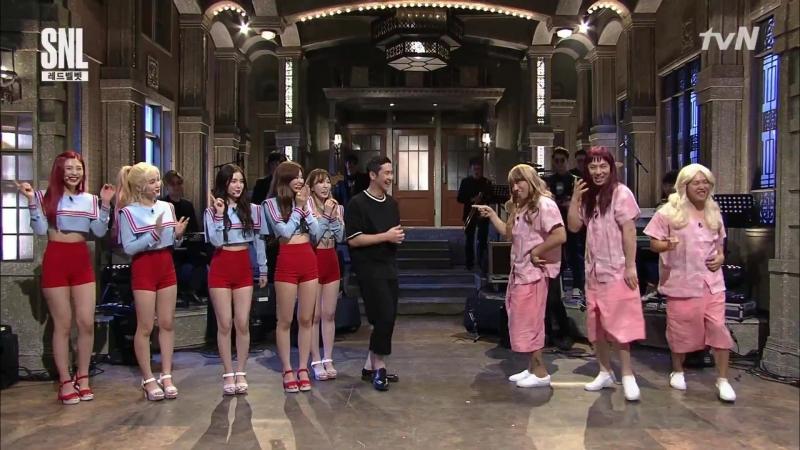 170722 tvN SNL Korea 9 @ Red Velvet Cut 1