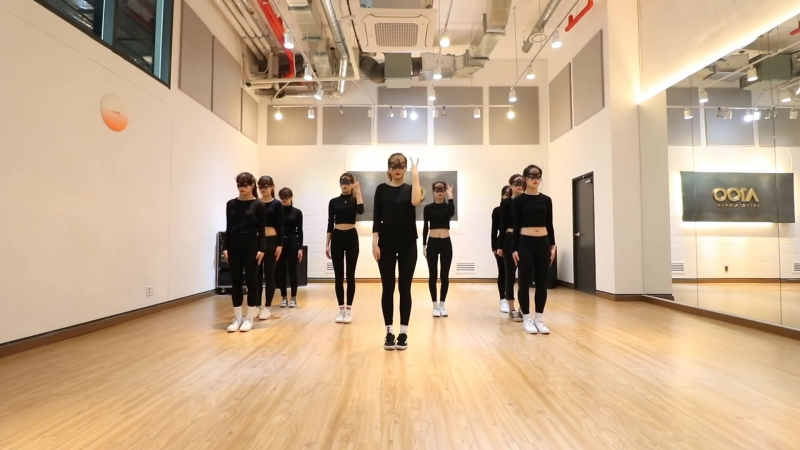 2017.04.20 A100 Entertainment First Project — PRACTICE SEVEN (Janet Jackson — Rhythm Nation)