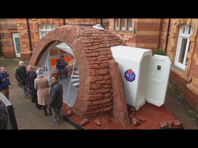 A glimpse into life on Mars First ever Mars 'show home' showcased in London