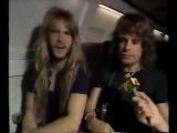 Оззи Осборн и Закк Вайлд перед отлетом в Москву - август 1989