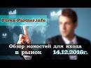 Форекс Партнёр - обзор новостей для входа в рынок || forex-