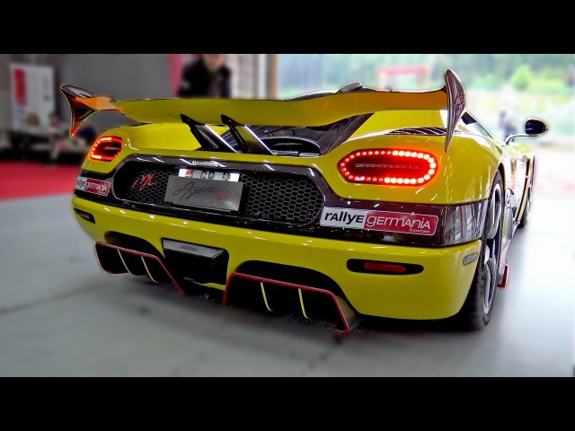 $2.5 MILLION KOENIGSEGG AGERA RS 'ML' RACING ON TRACK!