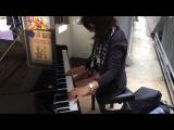 Tool - Vicarious playing on public piano in Paris Gare du Nord