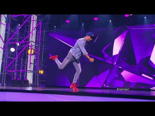 Танцы: Сергей Бахтин (JC Lemay & Laurent Dury - Battlefied Heroes (Electro)) (сезон 4, серия 2) из сериала Та...