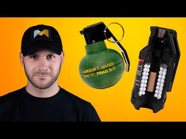 СТРАЙКБОЛЬНАЯ АКАДЕМИЯ. Страйкбольные гранаты и мины Airsoft grenades and mines