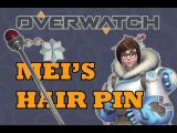 Overwatch Mei's Hair Accessory Tutorial  Kandy
