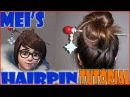 Overwatch - Mei's Hairpin Polymer Clay Tutorial/Cosplay Prop