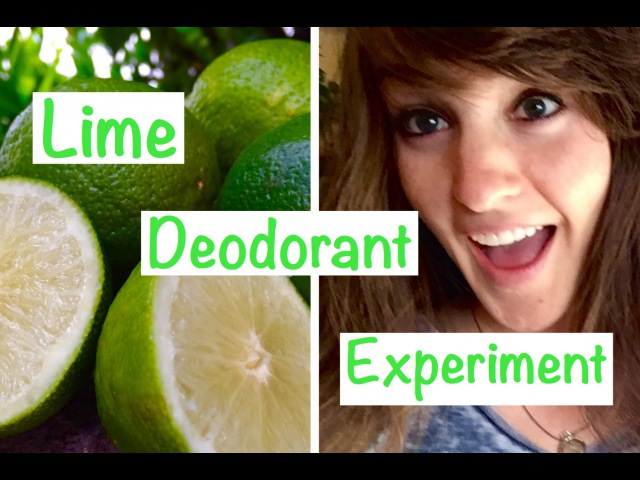 7 Days of Using Lime as Deodorant