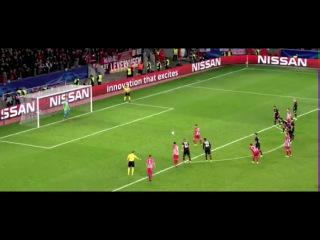 Gol Kevin Gameiro Goal 1-3 - Leverkusen vs Atletico Madrid 1-3 - UEFA Champios League 2017 HD