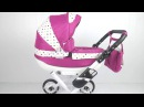 Wózek lalkowy Viki firmy Nestor