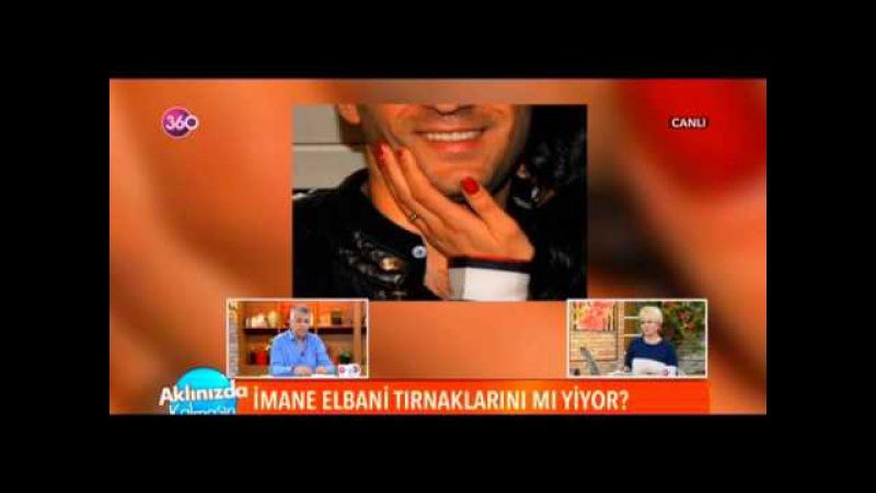 Murat Yıldırım ın Eşi İmane El Bani stresten Tırnaklarını yemeye başladı...