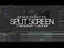 After Effects EASY Split Screen Transitions