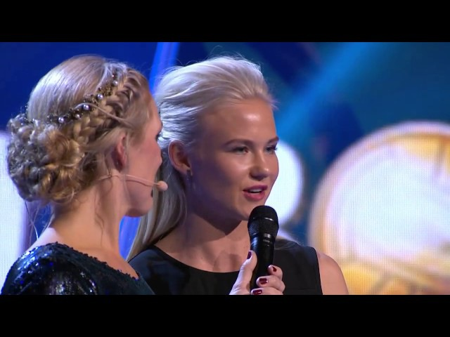 Forwards of the Year Pernille Harder and Zlatan Ibrahimovic