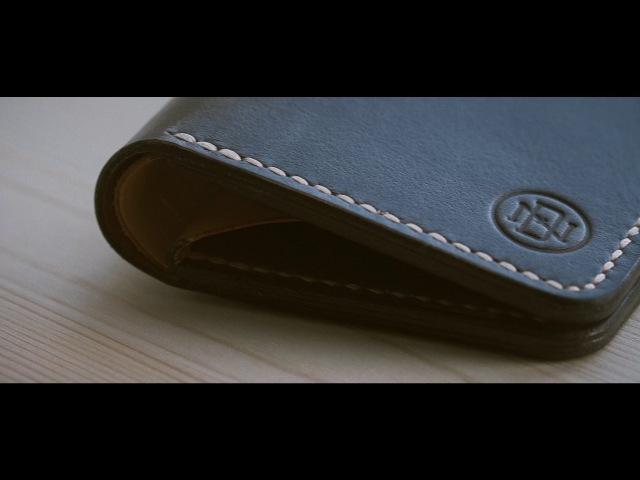 Handmade leather wallet by DN Crafts. Кошелек ручной работы мастерской DN Crafts.