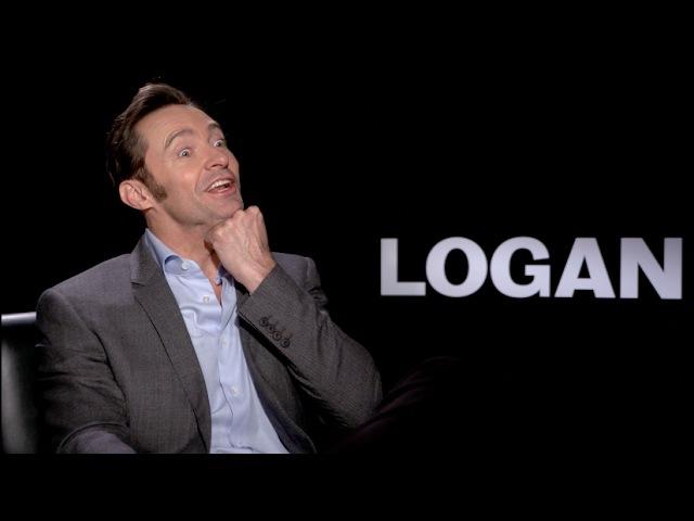 LOGAN (R-Rated Wolverine) Interviews - Hugh Jackman, Sir Patrick Stewart, Mangold, Boyd Holbrook