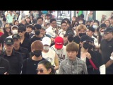 [170813] Seventeen (세븐틴) @ Hong Kong Airport Departure