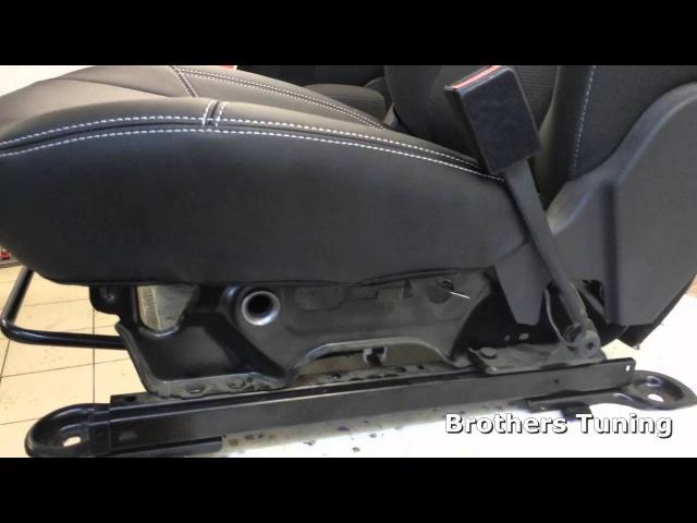 Установка чехлов на Ford Focus 3 (Trend Sport)