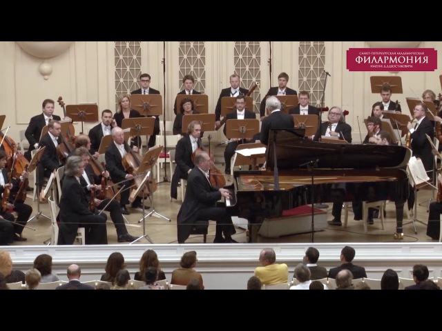 Брамс. Концерт №2. Дирижер - Юрий Темирканов, фортепиано - Г.Ольссон