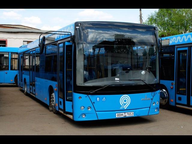Поездка на автобусе Маз 203.069 по маршруту №112 (М. Братиславская- Капотня)