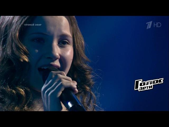 Стефания Соколова «Времени нет» - Финал - Голос.Дети - Сезон 4