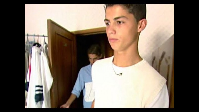 Cristiano Ronaldo - before he was famous ( 16 years old )