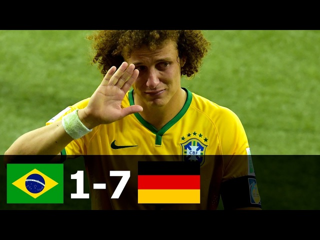 Brazil vs Germany 1 7 All Goals and Extended Highlights FIFA World Cup Semi Final 2014 HD 720p