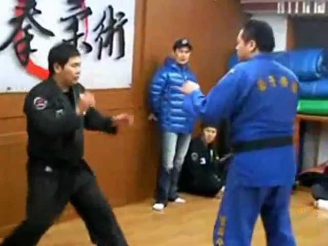 (103)Chae Seong-hyeon fought for Gongkwon Yusul 50 people(Korean Martial Arts)