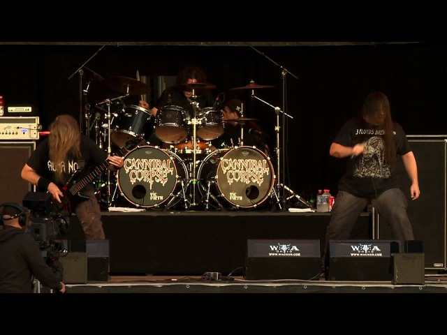 Cannibal Corpse - Scourge Of Iron (Live At Wacken Open Air 2015) [BlurayHD]