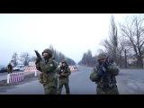 Блокада Донбасса стрельба на блокпосту и перепалки активистов с полицией