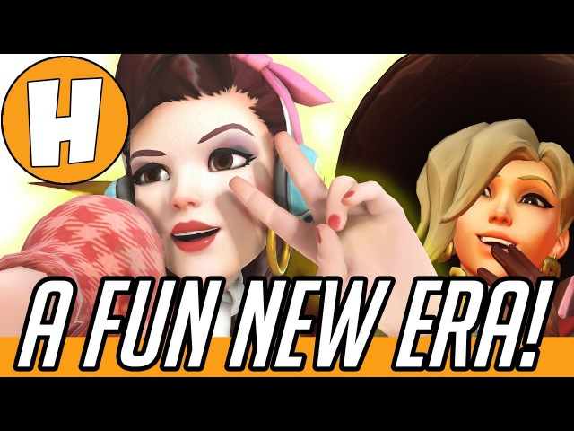 Overwatch - A Whole NEW Game! Mercy D.va Patch Opinions | Hammeh
