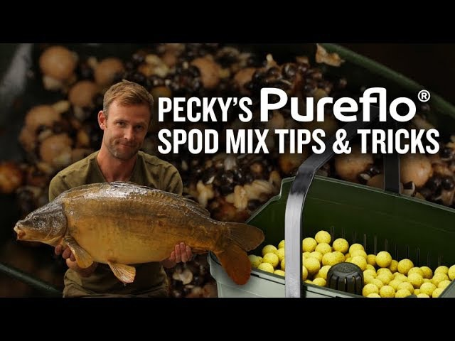Darrell Peck's Spod Mix Tips Tricks