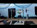 Ключков Александр, 75 кг, толчок с груди