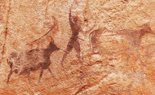 пещерная живопись испания
