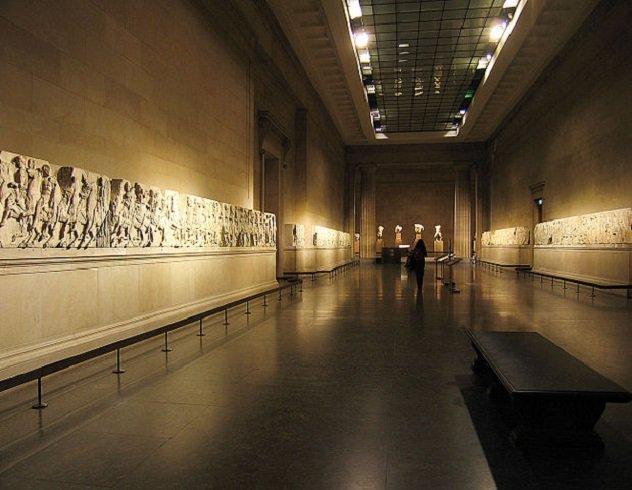 Мраморные барельефы Древней Греции