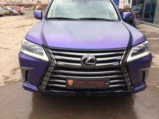 -Оклейка Lexus LX 570 плёнкой Хамелеон