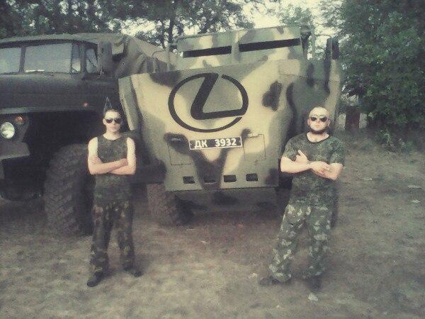 Українські військові на Донбасі знищили бойову машину російських найманців, - Мисягін - Цензор.НЕТ 7187